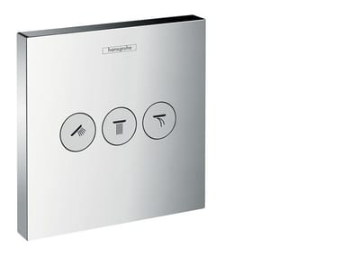 Recessed thermostatic shower mixer SHOWERSELECT | Thermostatic shower mixer