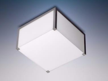 Plafonnier en verre pour éclairage direct 165 | Lampe de plafond