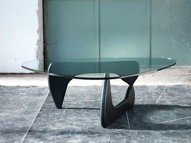 Triangular crystal coffee table 1709 | Triangular coffee table