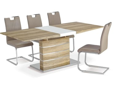 Rectangular wooden table 18 | Table