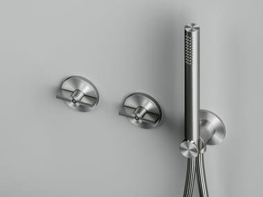 Mitigeur de douche en acier inoxydable à cartouche progressive avec douchette Valvola01_19 68