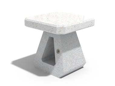 Concrete outdoor chair 191 | Outdoor chair