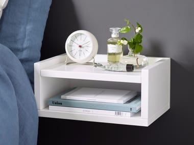 Rectangular wall-mounted bedside table 1KM DISPLAY | Bedside table