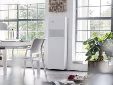 Awesome Monoblock Air Conditioner Without External Unit With Heat Pump 2.0 Vert 12  HP DC Inverter