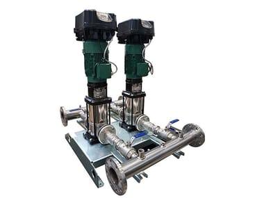 Gruppi A Pressione Costante Con Sistema Multi Inverter A Bordo Pompa Mce/P 2 NKVE MCE-P