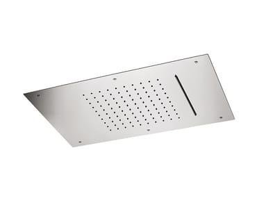 Tête de douche à effet pluie encastrable en métal 2-JETS HEAD SHOWERS | Tête de douche en métal
