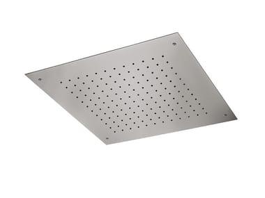 Soffione doccia a pioggia in acciaio SOFFIONI | Soffione doccia in acciaio