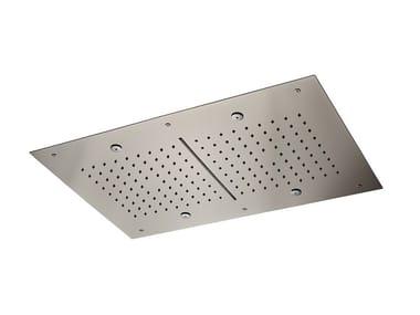 Tête de douche de plafond en acier 2-JETS HEAD SHOWERS | Tête de douche de plafond