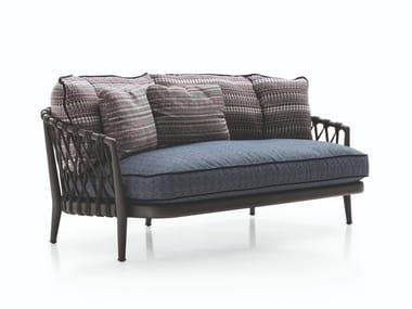 2 seater fabric garden sofa ERICA '19 | 2 seater garden sofa
