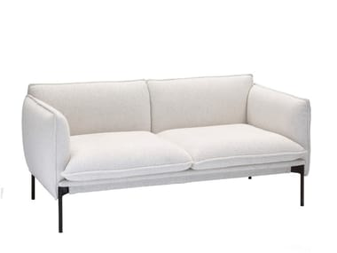 Contemporary style 2 seater upholstered fabric sofa PALM SPRINGS | 2 seater sofa