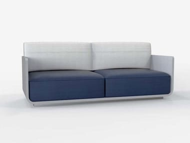 2 seater sofa with fire retardant padding AIR | 2 seater sofa