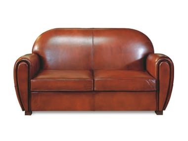 2 Seater Tanned Leather Sofa CARLTON | 2 Seater Sofa