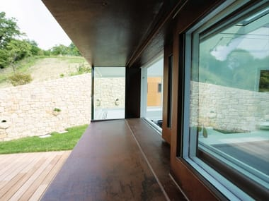 Corten™ patio door 20/10® | Corten™ window