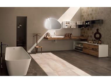 Ceramic bathroom furniture set 20 QUERCIA