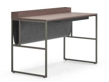 Rectangular wood fibre writing desk 20.VENTI HOME