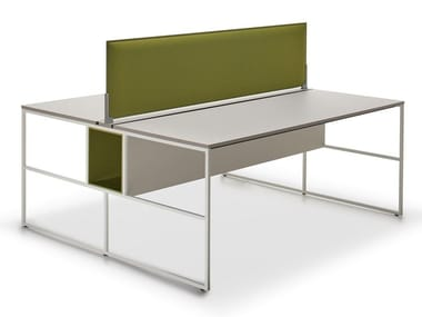 Rectangular Fenix-NTM® office desk 20.VENTI