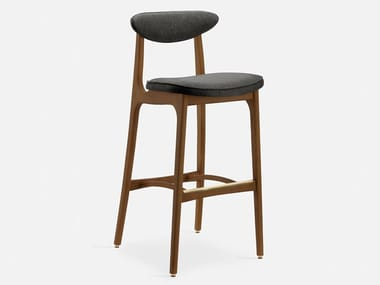 Wooden stool with footrest 200-190 LOFT | Stool
