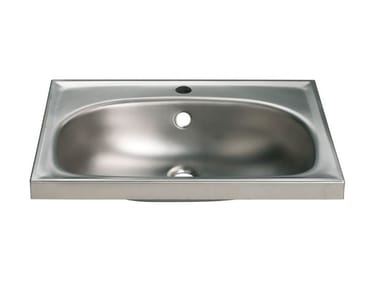 Oval single stainless steel washbasin 2012 | Washbasin
