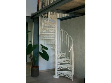 Cast iron Spiral staircase 2050 | Cast iron Spiral staircase