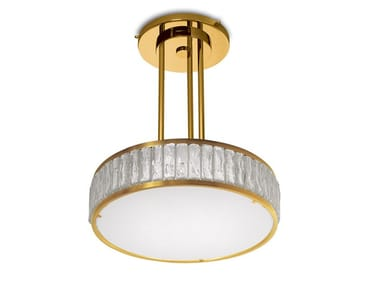 Direct light glass pendant lamp 2058 A S | Pendant lamp