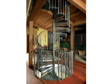 Cast iron Spiral staircase 2070 | Cast iron Spiral staircase