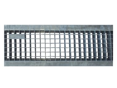 Galvanized steel Manhole cover and grille for plumbing and drainage system Mesh grating galvanized 200L