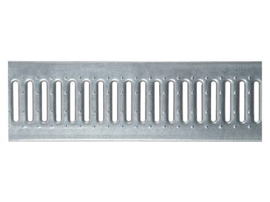 Galvanized steel Manhole cover and grille for plumbing and drainage system Slotted grating galv.