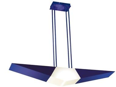 Lampada a sospensione fatta a mano in metallo 2080 BLE | Lampada a sospensione