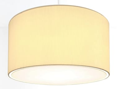 Drum shaped pleated fabric lampshade 2098 | Lampshade