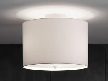 Handmade fabric and metal ceiling lamp 2130-3 | Ceiling lamp