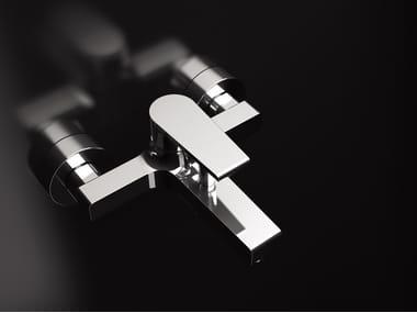 Miscelatore per vasca a muro con doccetta ARTIC 230-AT | Miscelatore per vasca