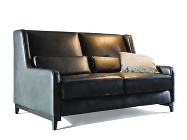 Leather sofa bed 2300 QUEEN | Leather sofa bed