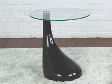 Round glass side table 241 | Coffee table