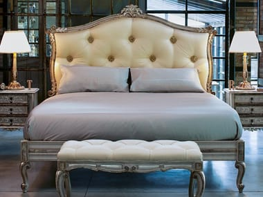 Double bed with tufted headboard 2512 | Bed