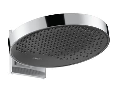 Wall-mounted chromed brass overhead shower RAINFINITY | Overhead shower