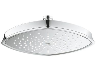 Soffione doccia a soffitto con getto fisso con sistema anticalcare RAINSHOWER GRANDERA 26473000 | Soffione doccia
