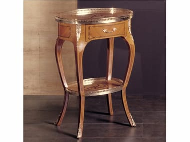 Oval high side table with storage space 273 | Coffee table