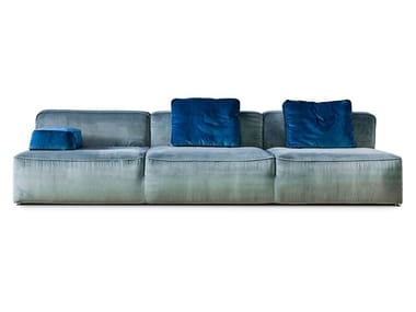 Sectional fabric or leather sofa 275 GLAM