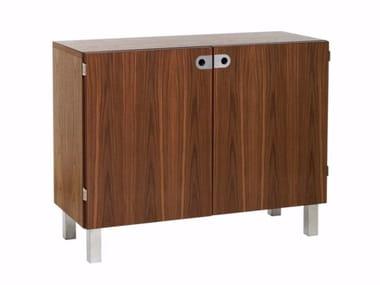 Wood veneer highboard / office storage unit 2K-SKÅP | 2K151