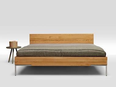 English oak double bed 2TIME SOLID OAK TYPE 1