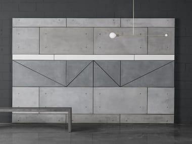 Fiber-reinforced concrete wall tiles / Table Top 2x4 PANELS