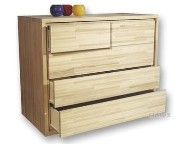 Beech chest of drawers 3+2 | Chest of drawers