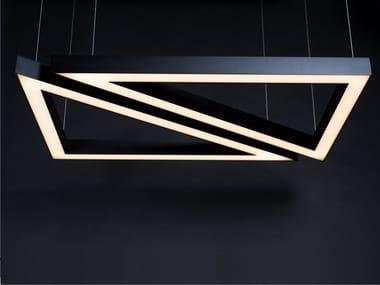 Lampada a sospensione a LED con dimmer 3-4-5