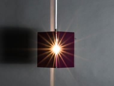 Lampada a sospensione in acciaio 50303 | Lampada a sospensione