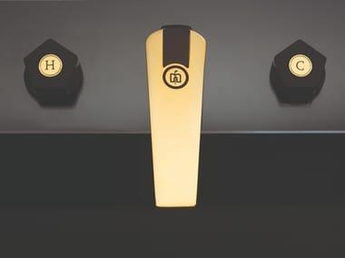 Rubinetto per lavabo a 3 fori da piano PARK LIMITED EDITION | Rubinetto per lavabo da piano
