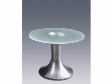 Coffee table with light for living room GUÉRIDON 3