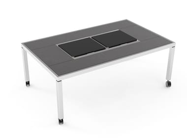 Dining table with cooling module Cooling Dining table