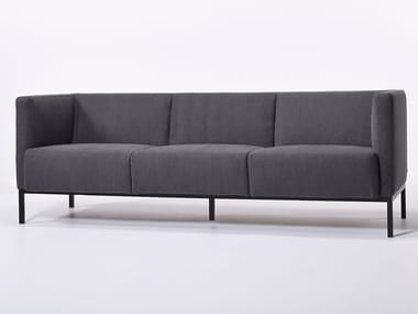 3 seater fabric sofa with removable cover TAXI 3P