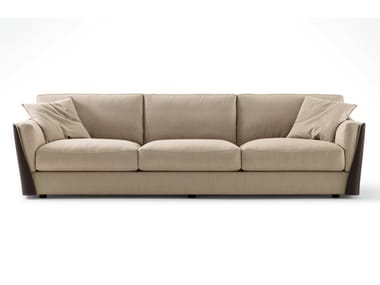 3 seater fabric sofa with removable cover VITTORIA | 3 seater sofa