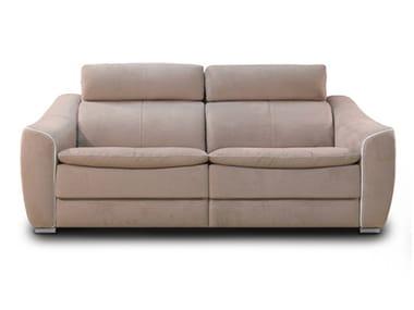 3 Seater Nabuk Sofa DAKOTA | 3 Seater Sofa